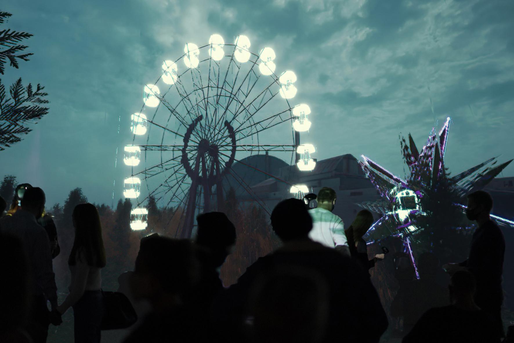 Перша віртуальна виставка Чорнобиля