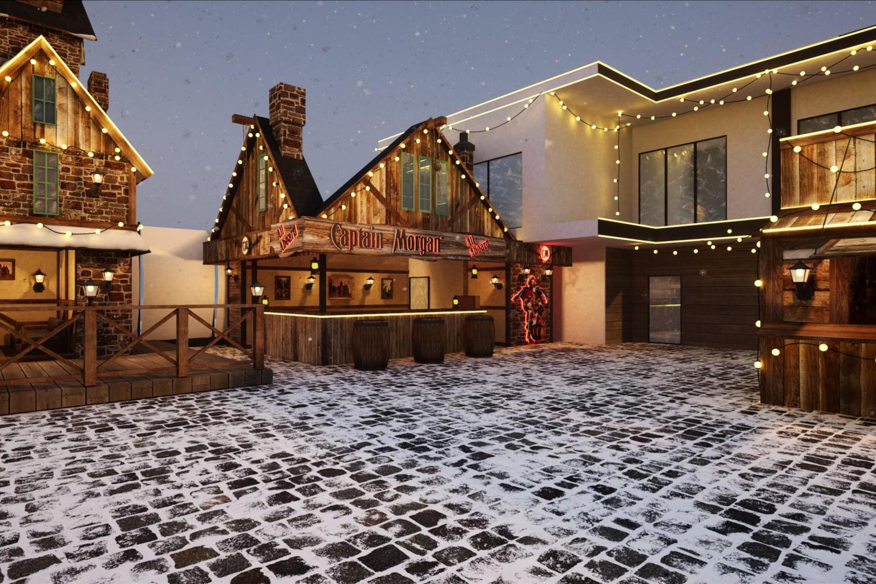 Osocor Residence спільно з AMAconcert презентує грандіозну зимову локацію