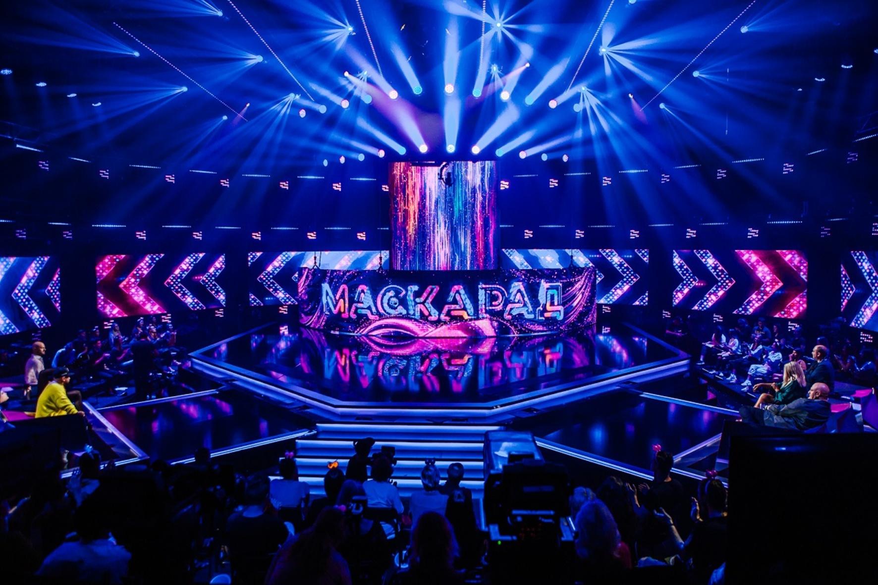 образ Лайка на шоу «Маскарад» на «1+1»
