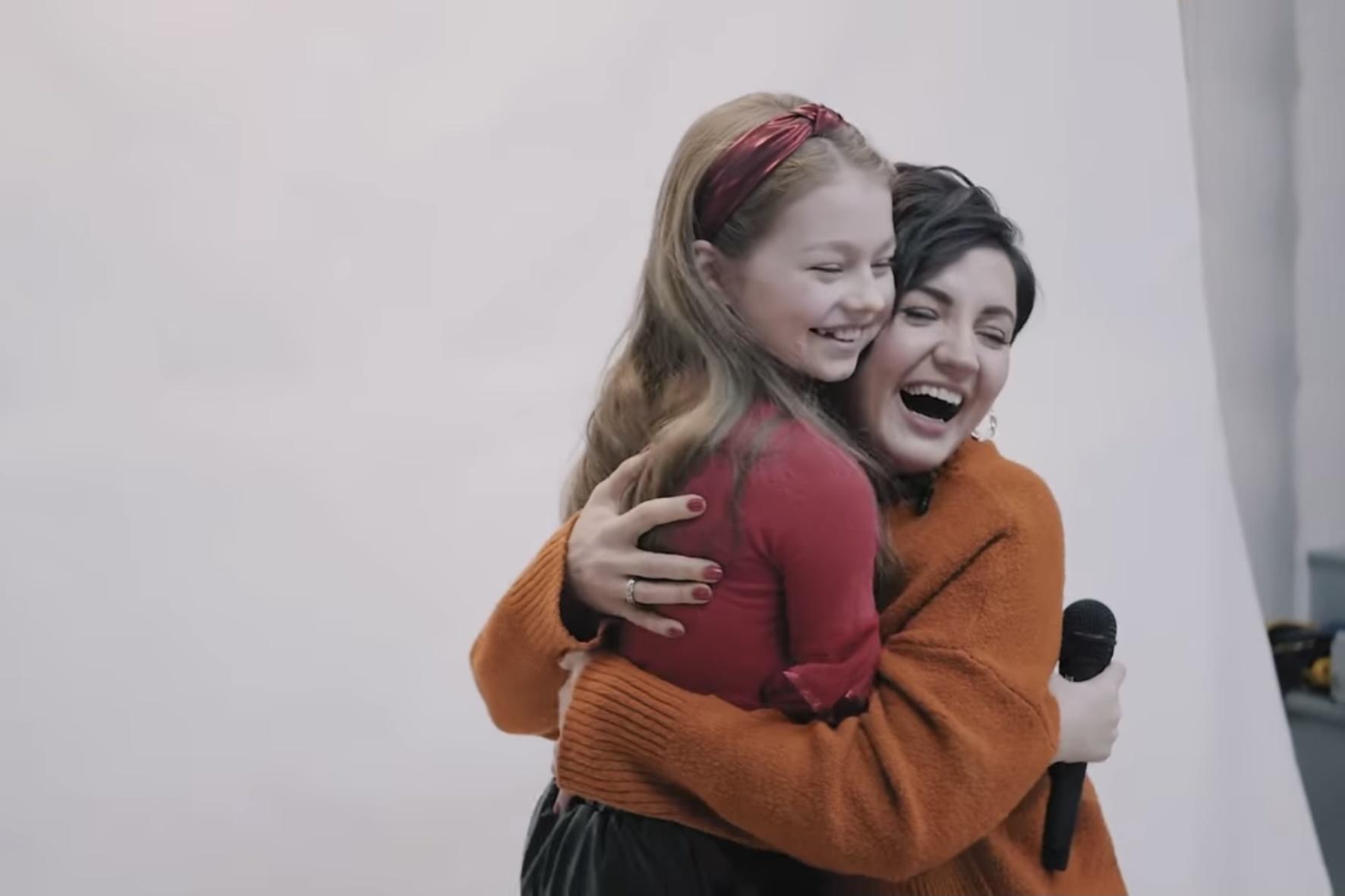 Оля Цибульська шокувала фанів появою під час конкурсу її пісень