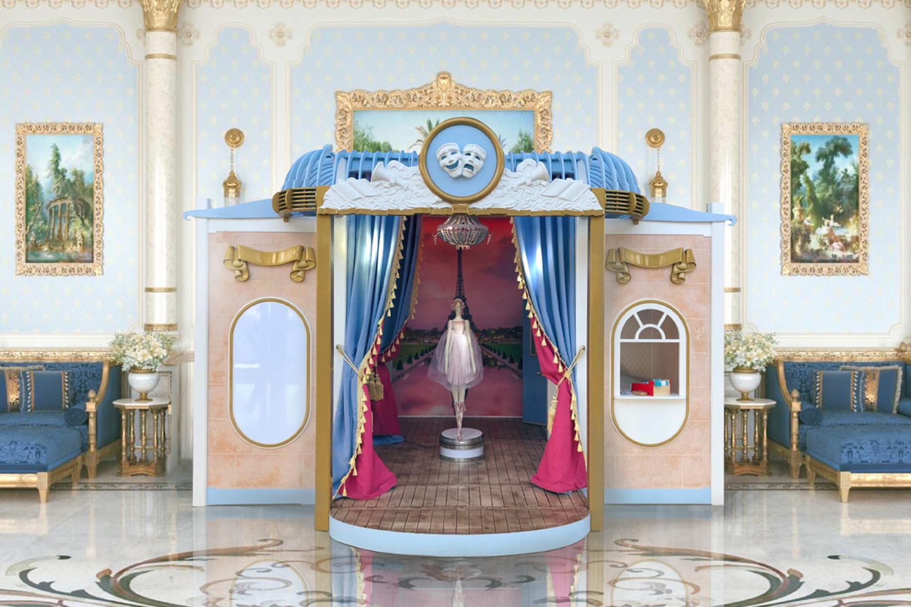 детский игровой домик Театр FIORI