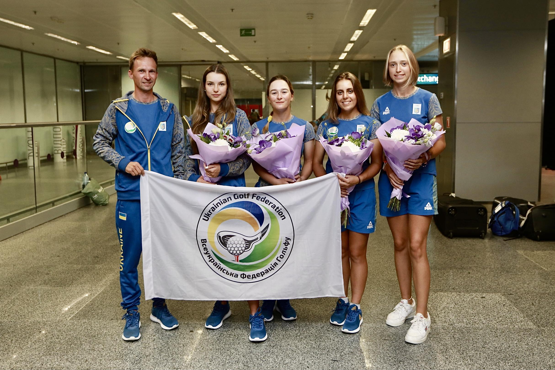 Збірна України з гольфу завоювала бронзу на міжнародному чемпіонаті